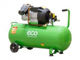 Компрессор ECO AE-1005-3 (440 л/мин, 8 атм, коаксиальный, масляный, ресив. 100 л, 220 В, 2.20 кВт)