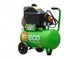 Компрессор ECO AE-251-4 (260 л/мин, 8 атм, поршневой, масляный, ресив. 24 л, 220 В, 1.80 кВт)
