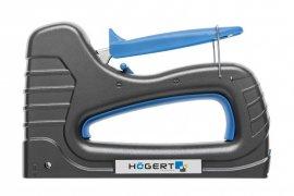 Степлер мебельный-скобы 6-16 мм-гвозди 15-16 мм HOEGERT