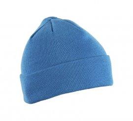 Шапка вязаная ENZ, универсальный размер, синий