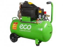 Компрессор ECO AE-501-1 (260 л/мин, 8 атм, коаксиальный, масляный, ресив. 50 л, 220 В, 1.80 кВт)
