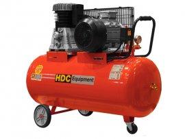 Компрессор HDC HD-A201 (820 л/мин, 10 атм, ременной, масляный, ресив. 200 л, 380 В, 5.50 кВт)