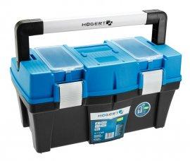 Кейс пластиковый для инструментов 18-съемный органайзер-металлические петли HOEGERT