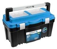 Кейс пластиковый для инструментов 25-съемный органайзер-металлические петли HOEGERT