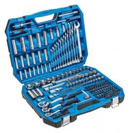 Набор инструментов-222 шт-1-4-3-8-1-2- HOEGERT