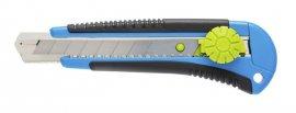 Нож с отламывающимся лезвием 18 мм-поворотная блокировка-3 лезвия SKS HOEGERT