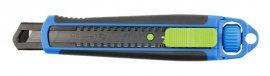 Нож с отламывающимся лезвием 18 мм-SK4 черный стальное лезвие HOEGERT