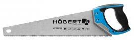 Пила-ножовка 450 мм-7 TPI-закаленное-трехстороняя заточка HOEGERT