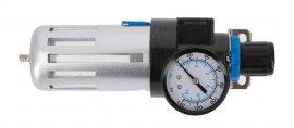 Фильтр-регулятор с манометром пневматический 1-4-90см³-9 бар-135 PSI HOEGERT