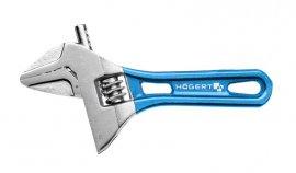 Разводной облегченный ключ с короткой рукояткой 140 мм HOEGERT