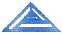 Угольник разметочный алюминиевый 300 мм HOEGERT