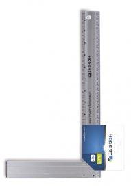 Угольник столярный алюминиевый 250х190 мм HOEGERT