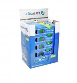 Набор уровней строительных пузырьковых 20 см HT4M001-30 шт-в  картонной упаковке HOEGERT