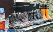 Ботинки с защитой от прорезания и рабочая обувь