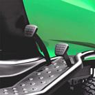 1-педальный привод с гидростатической коробкой передач