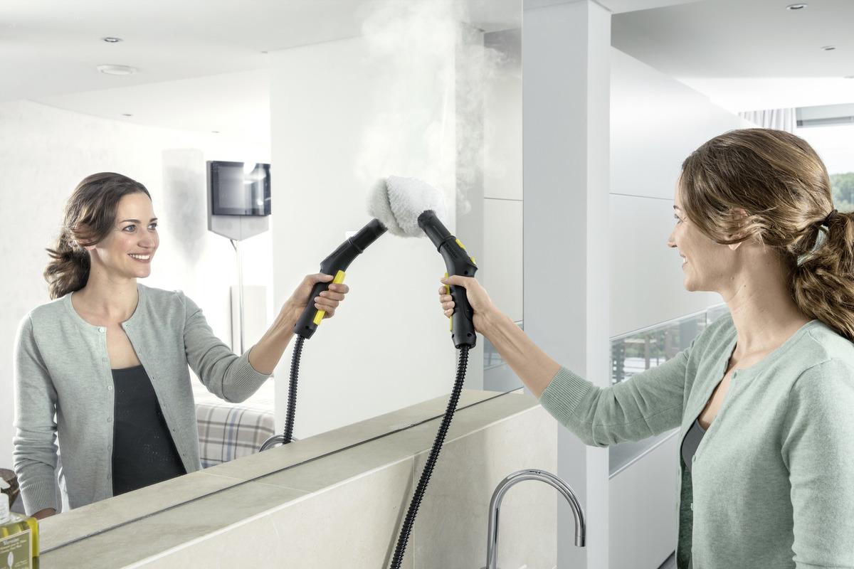 Пароочиститель SC 1 Premium   Floor Kit: Мощное давление в 3.0 бар