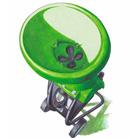 Загрузочная воронка (с отверстием в форме четырёхлистника)